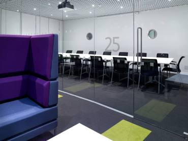 Thames Water Glazed Meeting Room