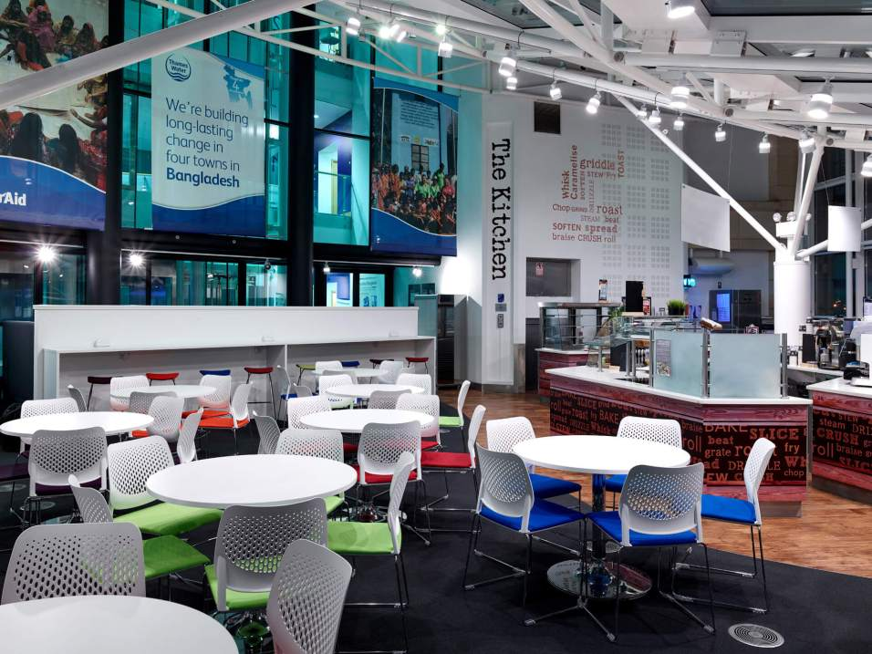 Thames Water staff cafe