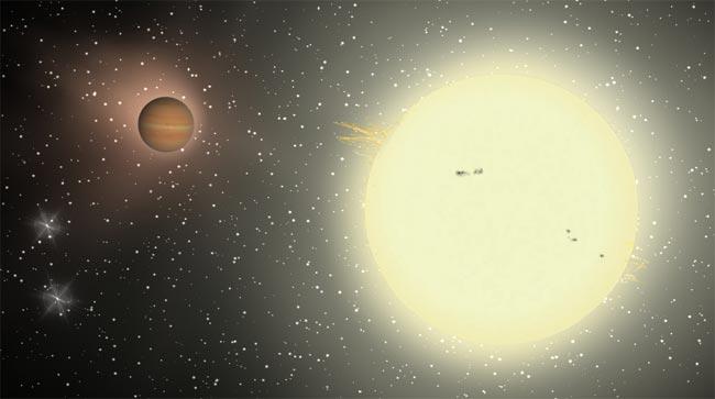 Hot Jupiter: Bespin