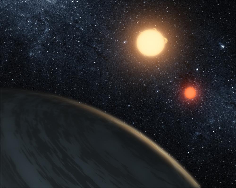 Planète avec 2 Suns: Tatooine