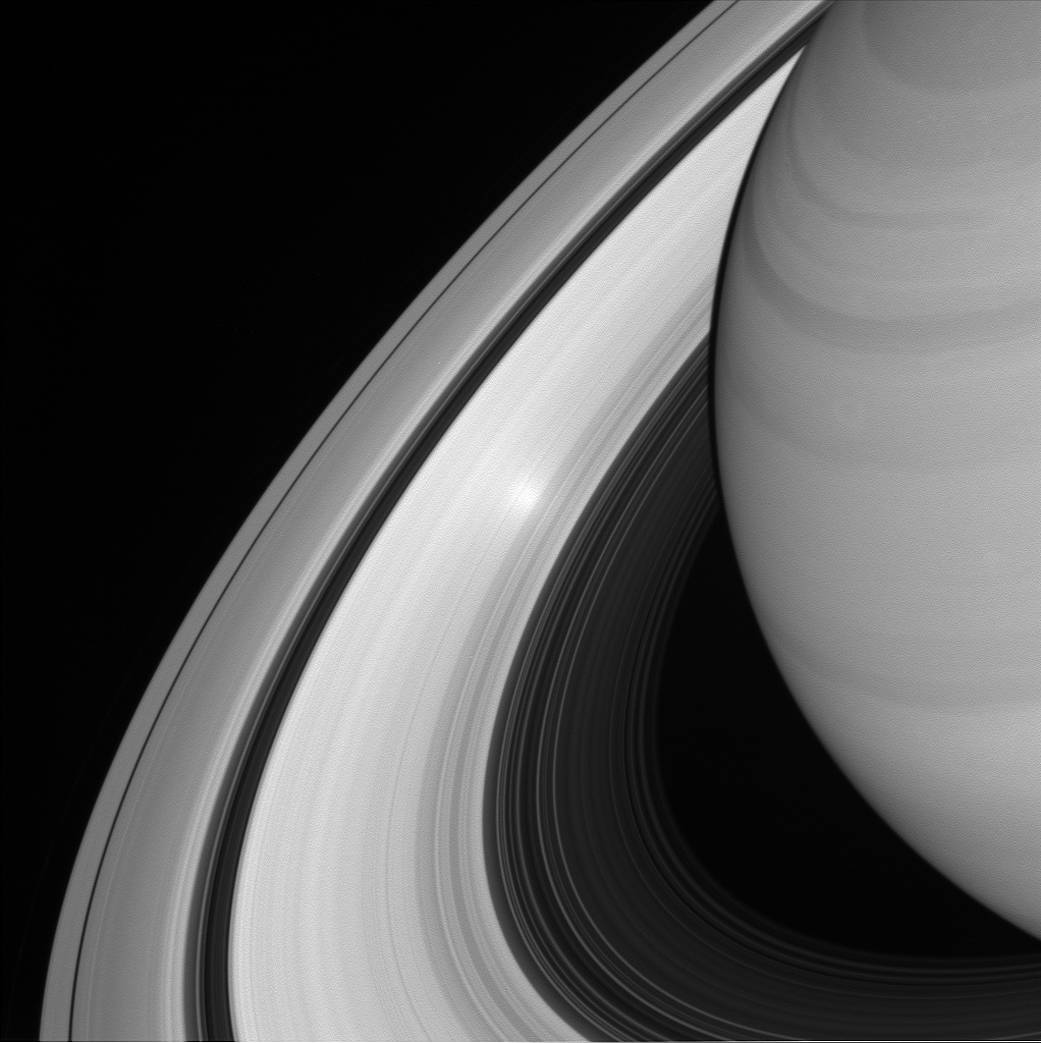 A Surge in Saturn's Rings