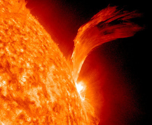 Sun Unleashes Impressive Solar Flare