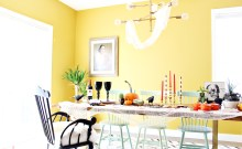Space and Habit Fall Dining Room Decor