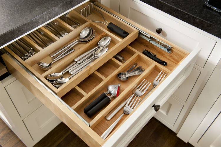 Home Organization Houston Organized Kitchen Drawer