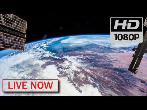 国際宇宙ステーションのライブ映像を!