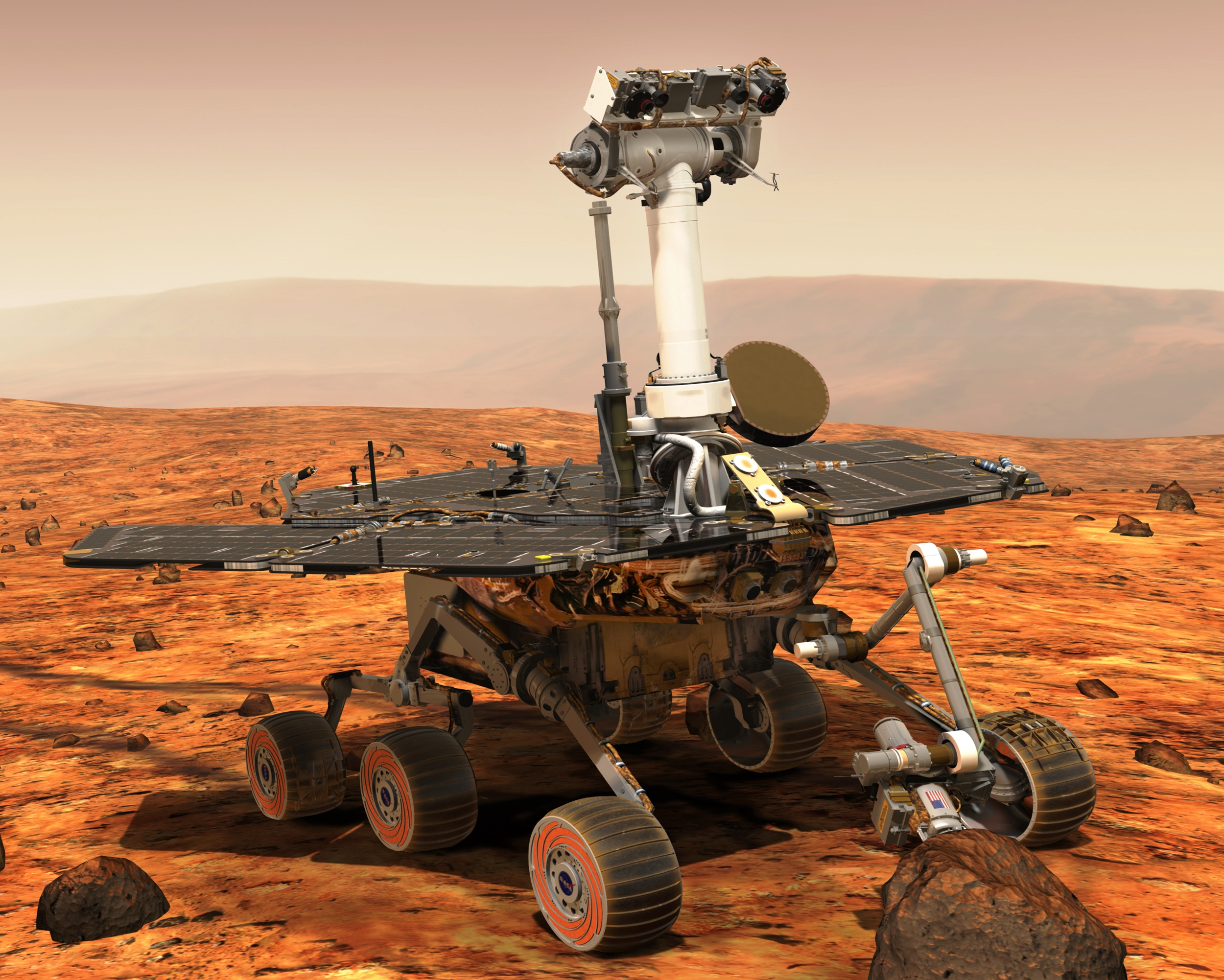 Our Spaceflight Heritage Opportunity rover marks 13 years on Mars