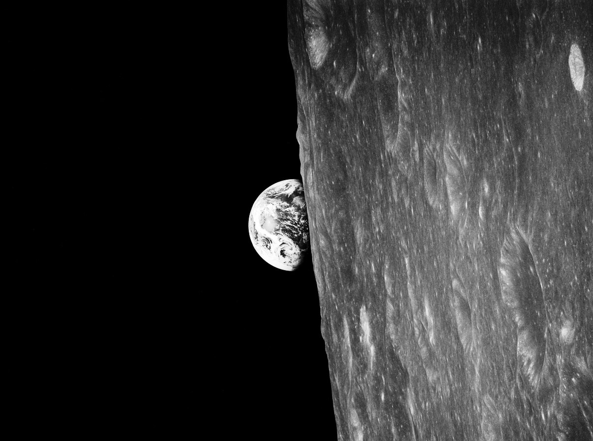 Nasa S Lro Shows Effects Of Earth S Gravity On The Moon
