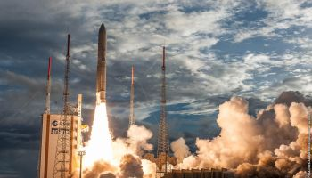 GSLV rocket carries new Indian communications satellite to
