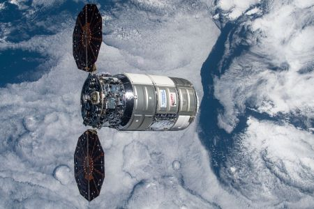 A view of the previous Cygnus spacecraft following its departure in January 2021. Credit: NASA