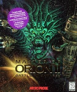 Master of Orion II Box Cover