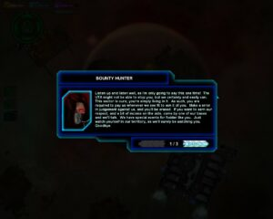 3 - Communication from the Bounty Hunters