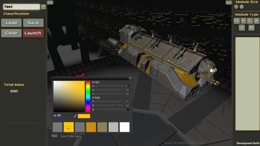 Kinetic Void Screenshot