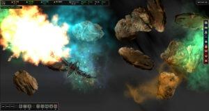 AI War - Explosion In Nebula