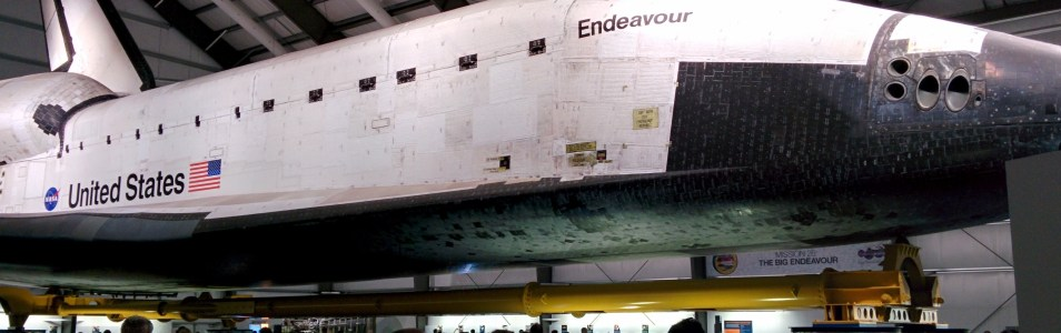 Real Life Galactic: The Space Shuttle Endeavour