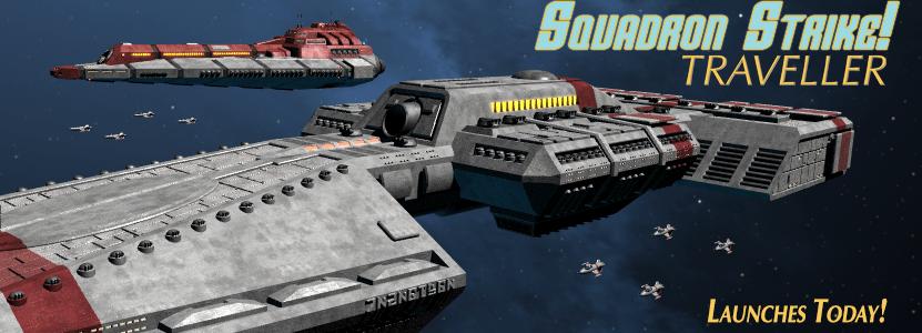 SGJ Podcast #144 – Squadron Strike: Traveller