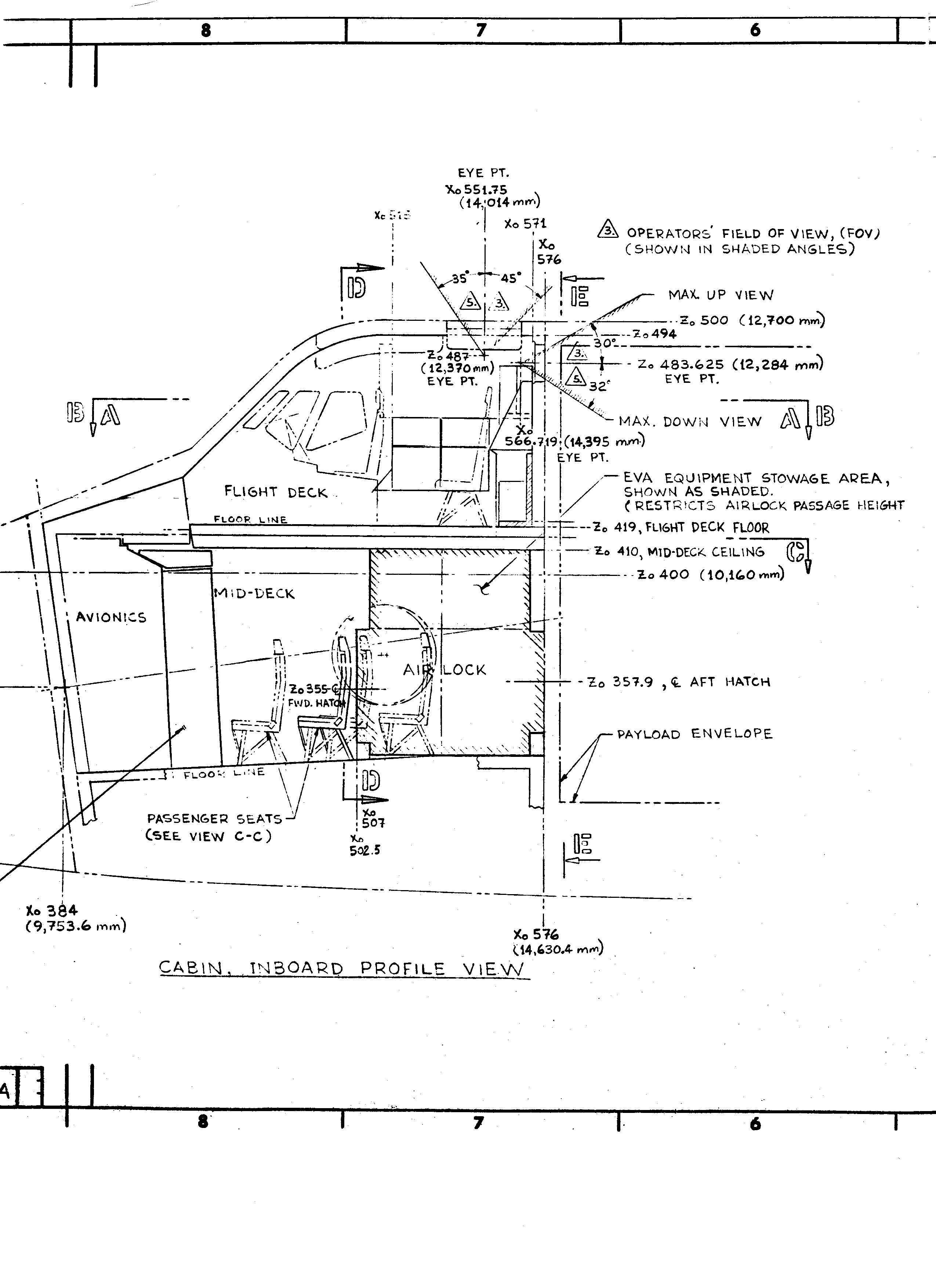 Space Shuttle Cockpit Diagram