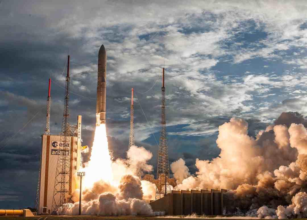 Ariane 5 launch for Inmarsat, Hellas Sat, ISRO returns Arianespace to pre-strike schedule