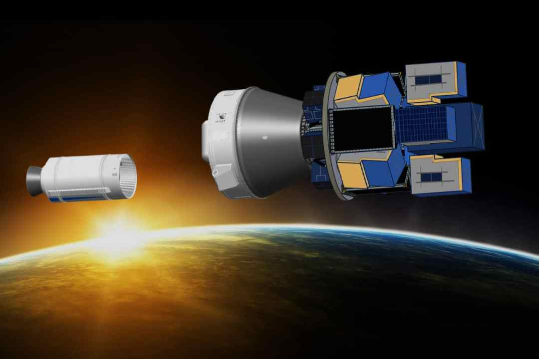 European satellite launch policy for now remains all booster, no payload