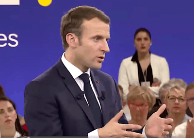 French President says Europe needs policy to neutralize SpaceX's home-market advantage
