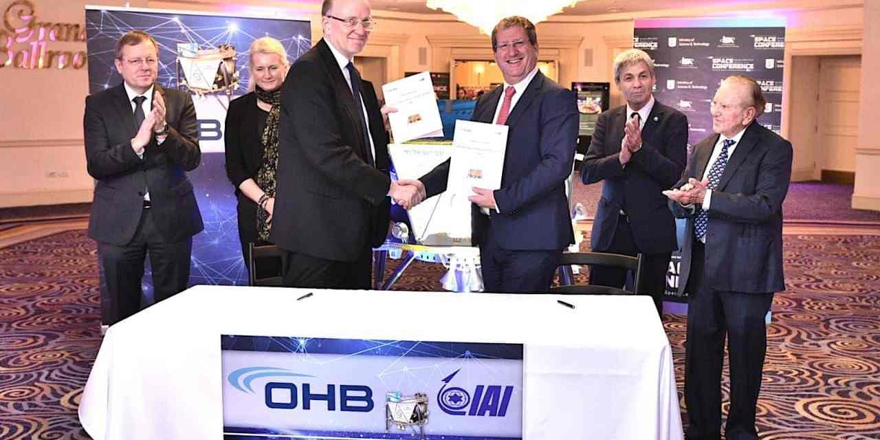 Israel's Beresheet fails at lunar landing, but IAI partnership with Europe's OHB on commercial landers appears intact