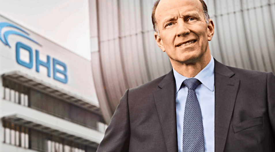 OHB Chief Executive Fuchs: We're investing in New Space satellites and launchers to see where it goes