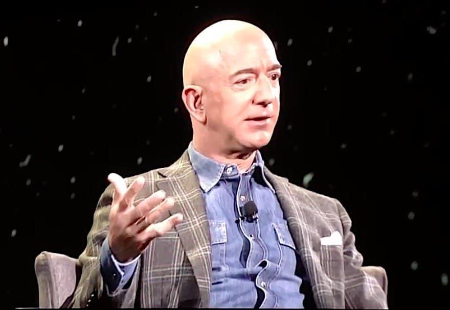 Jeff Bezos: Amazon's ready to risk billions on Project Kuiper satellite broadband constellation