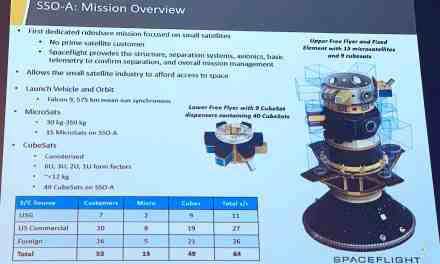 18 nations, 63 satellites deployed, 1 held prisoner: Spaceflight's SSO-A exploit may be a one-off