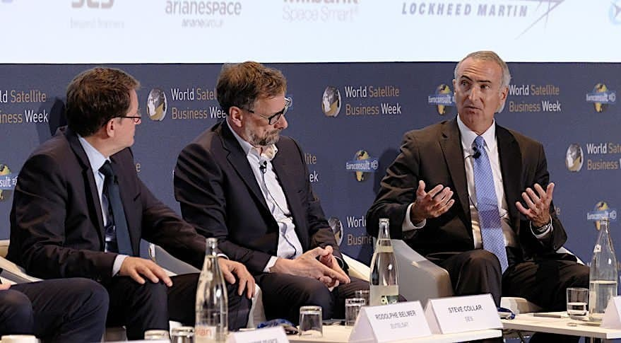 Intelsat to order new-generation satellite within weeks, updates on C-band spectrum cost, Eutelsat's empty chair