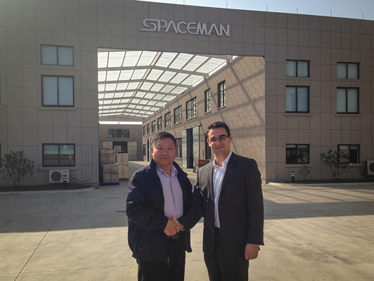 Spaceman USA and Spaceman factory