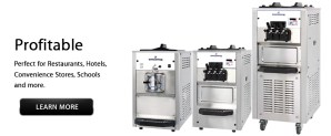 Commercial Soft Serve Machines and Frozen Beverage Freezers