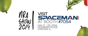 Spaceman Attends the NRA Show