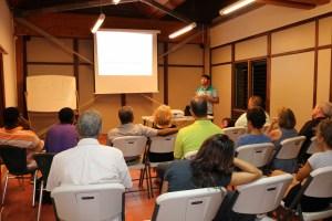 Workshop at Aruba park
