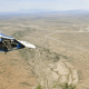Spaceship Two Unity Flying Over Spaceport America