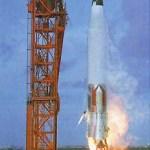 Launch on Atlas-Agena