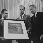 Mars Image given to President Johnson