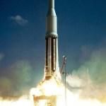 Lift-off of Saturn C1 SA-2