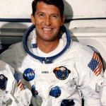 Schirra as the Commander of Apollo 7