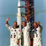 Apollo 9 crew: McDivitt, Scott, Schweickart