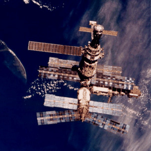 The incident aboard the Mir space station in 1997 was a tough lesson in fire safety in space (Credits: NASA).