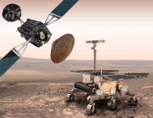 ExoMars concept (Credit: ESA)