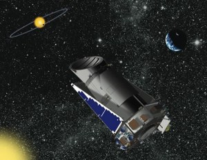 The Kepler space telescope, launched in 2009 to search for habitable planets outside the solar system (Credits: NASA)