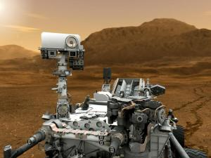 Curiosity rover has been sent to Mars to investigate planet's past or present ability to sustain microbial life (Credits: NASA).