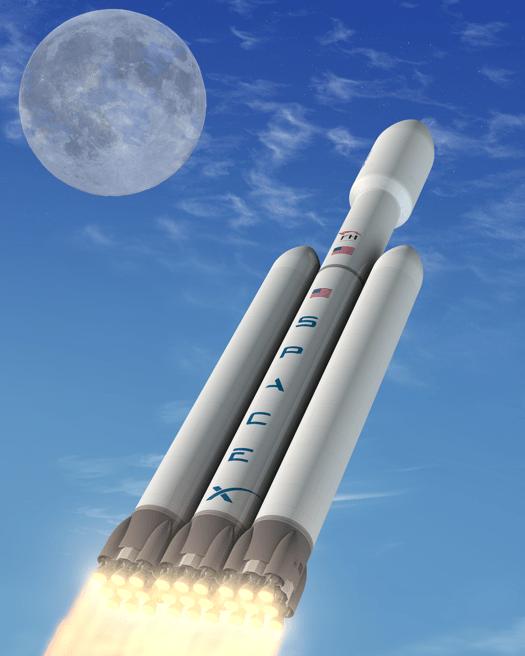 spacex lunar - photo #26