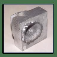 Heavy metal! A monolithic shield (Credits: NASA)