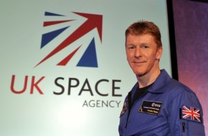 Major Timothy Peake, ESA's first UK Astronaut (Credits: UKSA.)