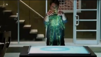 Tony Stark -- pulls a suit of armor out of thin air. (Credit: Marvel Studios/Paramount Pictures)