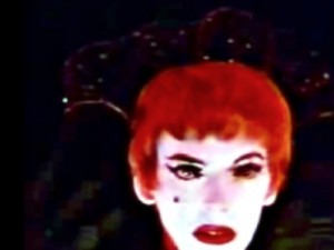 "Marjorie Cameron, Parsons' Scarlet Woman, The Whore of Babalon and later star of the movie ""Inauguration of the Pleasuredome"" (Credits: Mystic Fire Video)."