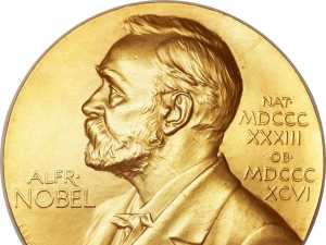 Nobel Peace Prize medallion