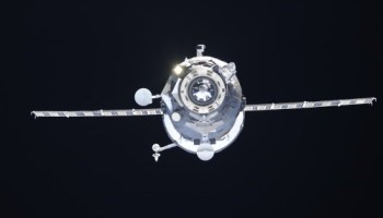 Progress Resupply Vessel (Credits: Roscosmos)