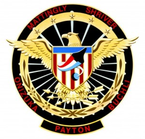 It became a staple of each Department of Defense mission for a patriotic crew patch, with little indication as to its primary objective (Credits: NASA).